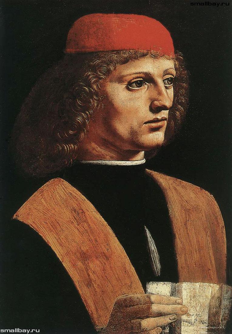 леонардо да винчи картинки портрет